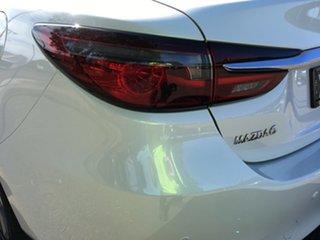 2019 Mazda 6 GL1033 GT SKYACTIV-Drive White 6 Speed Sports Automatic Sedan