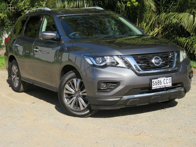 Demo Nissan Pathfinder R52 Series III MY19 ST+ X-tronic 4WD, 2019 Nissan Pathfinder R52 Series III MY19 ST+ X-tronic 4WD Gun Metallic 1 Speed Constant Variable