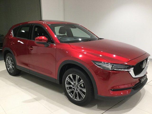 Used Mazda CX-5 KF4WLA Akera SKYACTIV-Drive i-ACTIV AWD, 2019 Mazda CX-5 KF4WLA Akera SKYACTIV-Drive i-ACTIV AWD Soul Red 6 Speed Sports Automatic Wagon
