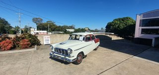 1958 Holden Special FC Special Ivory / Maroon 3 Speed Manual Sedan.