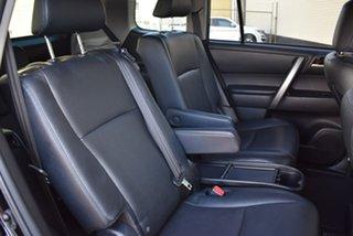 2012 Toyota Kluger GSU45R MY12 KX-S AWD Black 5 Speed Sports Automatic Wagon