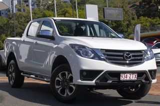 2020 Mazda BT-50 UR0YG1 XTR Cool White 6 Speed Sports Automatic Utility.