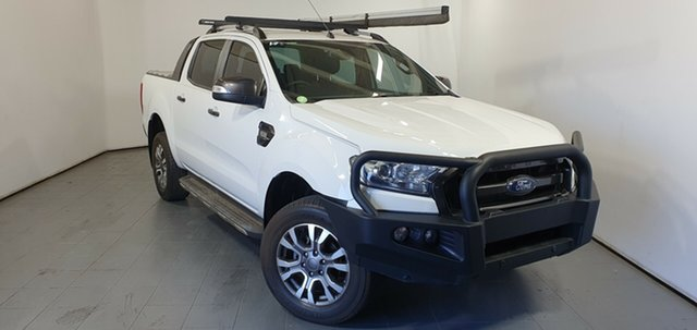 Used Ford Ranger PX MkII Wildtrak Double Cab, 2016 Ford Ranger PX MkII Wildtrak Double Cab White 6 Speed Sports Automatic Utility