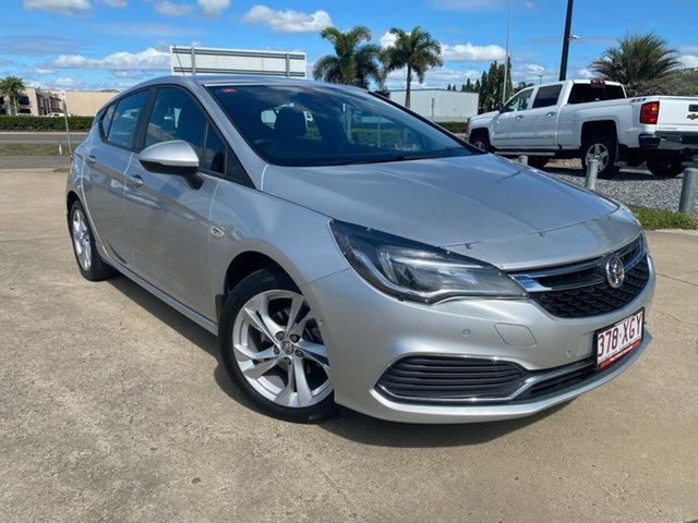 Used Holden Astra BK MY17 RS, 2016 Holden Astra BK MY17 RS Silver 6 Speed Sports Automatic Hatchback