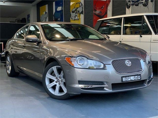 Used Jaguar XF X250 Luxury, 2010 Jaguar XF X250 Luxury Champagne Sports Automatic Sedan