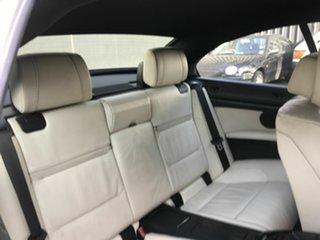 2009 BMW 325i E93 MY09 Black 6 Speed Auto Steptronic Convertible