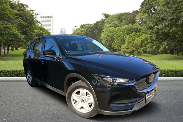 Used Mazda CX-5 KF2W7A Maxx SKYACTIV-Drive FWD, 2019 Mazda CX-5 KF2W7A Maxx SKYACTIV-Drive FWD Black 6 Speed Sports Automatic Wagon