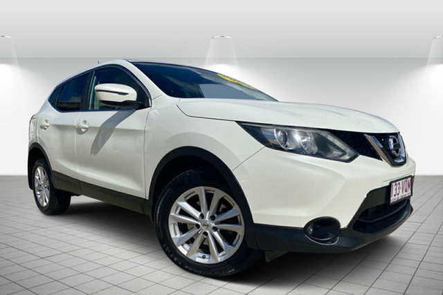 Used Nissan Qashqai J11 TS, 2014 Nissan Qashqai J11 TS White 1 Speed Constant Variable Wagon