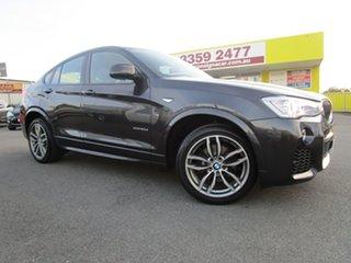 2016 BMW X4 F26 xDrive20d Coupe Steptronic Grey 8 Speed Automatic Wagon