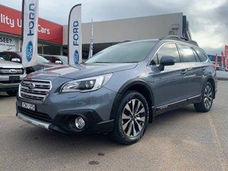 2015 Subaru Outback 2.5i - Premium Blue Constant Variable Wagon.