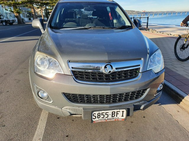 Used Holden Captiva CG Series II 5 AWD, 2012 Holden Captiva CG Series II 5 AWD Silent Silver (Metallic) 6 Speed Sports Automatic Wagon