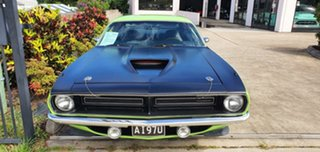 1970 Plymouth Barracuda Green 3 Speed Automatic Coupe