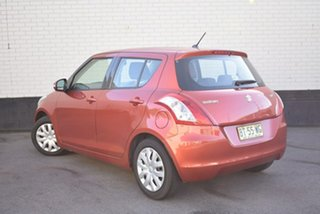 2012 Suzuki Swift FZ GL Orange 4 Speed Automatic Hatchback