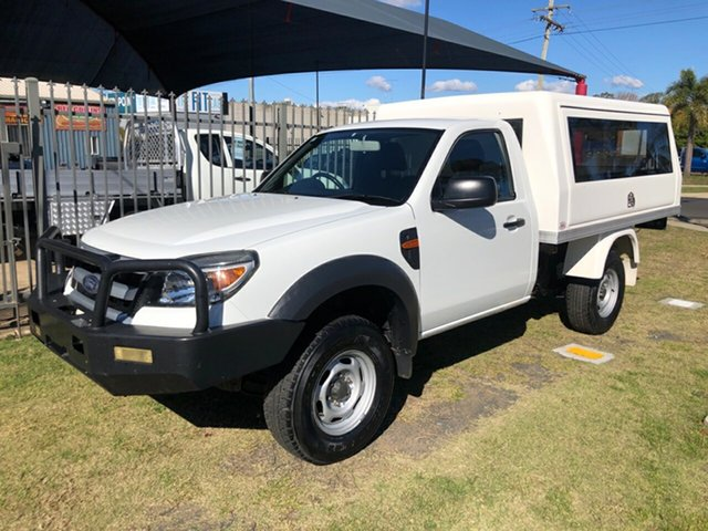 Used Ford Ranger PK XL (4x2), 2011 Ford Ranger PK XL (4x2) White 5 Speed Manual Cab Chassis