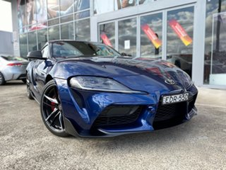 2019 Toyota Supra J29 GR GTS Le Mans Blue 8 Speed Sports Automatic Coupe.