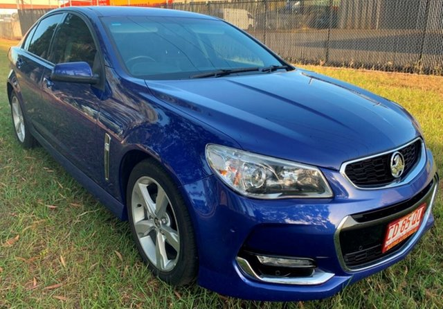 Used Holden Commodore VF II MY16 SV6, 2016 Holden Commodore VF II MY16 SV6 Blue 6 Speed Sports Automatic Sedan