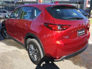 2019 Mazda CX-5 KF4WLA Maxx SKYACTIV-Drive i-ACTIV AWD Sport Soul Red 6 Speed Sports Automatic Wagon