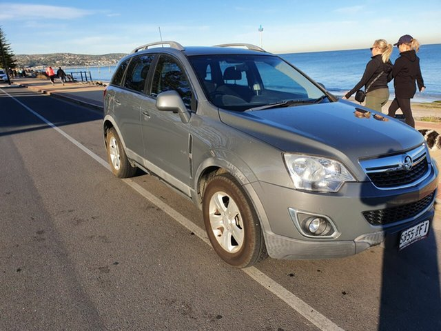 Used Holden Captiva CG Series II 5 AWD Morphett Vale, 2012 Holden Captiva CG Series II 5 AWD Silent Silver (Metallic) 6 Speed Sports Automatic Wagon