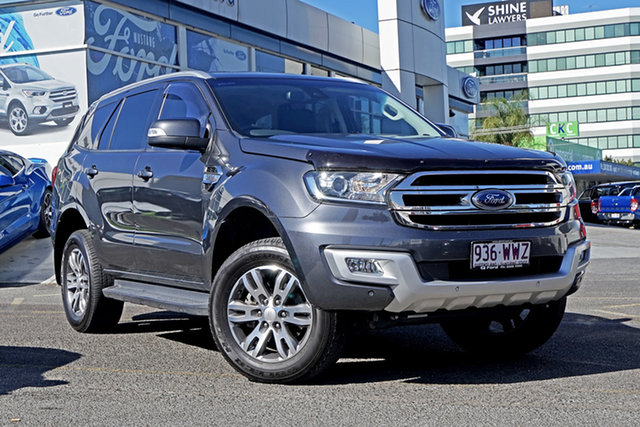 Used Ford Everest UA Trend RWD, 2016 Ford Everest UA Trend RWD Grey 6 Speed Sports Automatic Wagon