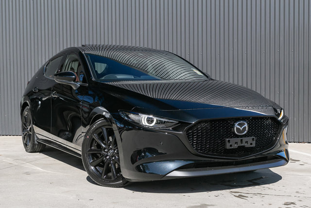 New Mazda 3 BP2HLA G25 SKYACTIV-Drive Astina, 2020 Mazda 3 BP2HLA G25 SKYACTIV-Drive Astina Jet Black 6 Speed Sports Automatic Hatchback