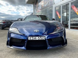 2019 Toyota Supra J29 GR GTS Le Mans Blue 8 Speed Sports Automatic Coupe