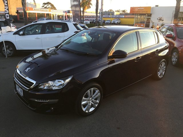 Used Peugeot 308 T9 Active, 2016 Peugeot 308 T9 Active Blue 6 Speed Sports Automatic Hatchback