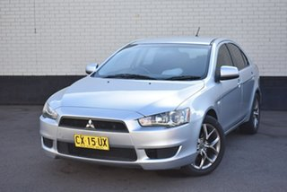 2009 Mitsubishi Lancer CJ MY09 ES Sportback Silver 5 Speed Manual Hatchback