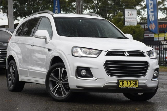 Used Holden Captiva CG MY18 LTZ AWD, 2018 Holden Captiva CG MY18 LTZ AWD White 6 Speed Sports Automatic Wagon