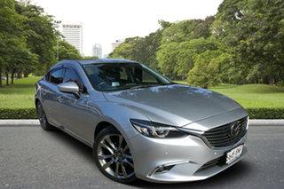 2016 Mazda 6 GJ1032 Atenza SKYACTIV-Drive Silver 6 Speed Sports Automatic Sedan.