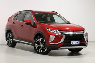 2018 Mitsubishi Eclipse Cross YA MY18 LS (2WD) Red Continuous Variable Wagon.