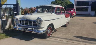 1958 Holden Special FC Special Ivory / Maroon 3 Speed Manual Sedan
