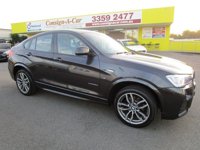 Used BMW X4 F26 xDrive20d Coupe Steptronic, 2016 BMW X4 F26 xDrive20d Coupe Steptronic Grey 8 Speed Automatic Wagon