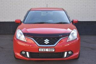 2018 Suzuki Baleno EW GL Red 4 Speed Automatic Hatchback.