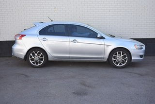 2009 Mitsubishi Lancer CJ MY09 ES Sportback Silver 5 Speed Manual Hatchback.