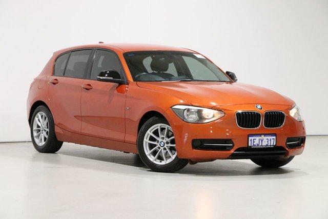 Demo BMW 116i F20 Sport Line, 2012 BMW 116i F20 Sport Line Orange 8 Speed Automatic Hatchback