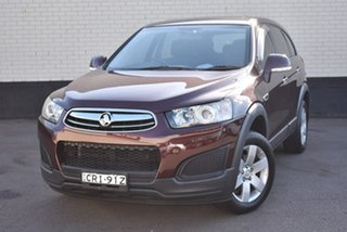 2014 Holden Captiva CG MY14 7 LS Maroon 6 Speed Sports Automatic Wagon