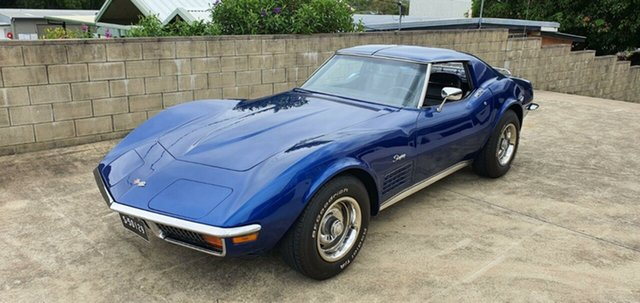 Used Chevrolet Corvette  Stingray, 1972 Chevrolet Corvette Stingray Blue 3 Speed Automatic Coupe
