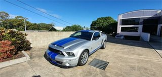 2008 Shelby GT500KR FORD MUSTANG Silver 6 Speed Manual Coupe.