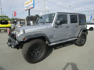 2014 Jeep Wrangler JK MY2015 Unlimited Sport Silver 6 Speed Manual Softtop.