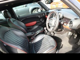 2011 Mini Cooper R56 MY11 S JCW Black 6 Speed Manual Hatchback