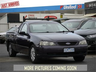 2004 Ford Falcon BA Mk II XL Purple Automatic Utility.