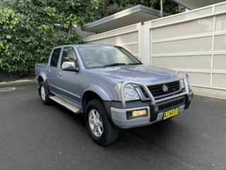 2006 Holden Rodeo RA MY06 LT Crew Cab Blue 5 Speed Manual Utility.