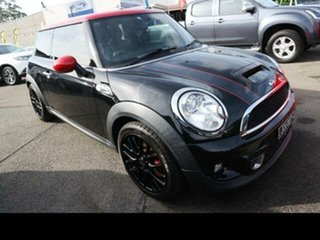 2011 Mini Cooper R56 MY11 S JCW Black 6 Speed Manual Hatchback.
