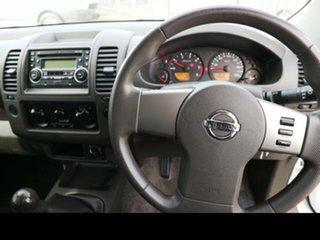 2010 Nissan Navara D40 RX (4x4) White 6 Speed Manual Dual Cab Pick-up