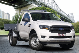 2019 Ford Ranger PX MkIII 2019.00MY XL White 6 Speed Manual Cab Chassis.