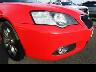 2006 Subaru Liberty MY06 3.0R-B Blitzen Red 5 Speed Auto Elec Sportshift Sedan