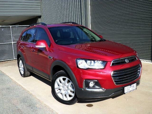 Used Holden Captiva CG MY15 7 LS Active (FWD), 2016 Holden Captiva CG MY15 7 LS Active (FWD) 6 Speed Automatic Wagon