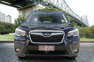 2019 Subaru Forester S5 MY20 2.5i-L CVT AWD Crystal Black 7 Speed Constant Variable Wagon.