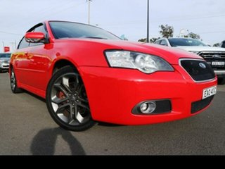 2006 Subaru Liberty MY06 3.0R-B Blitzen Red 5 Speed Auto Elec Sportshift Sedan.