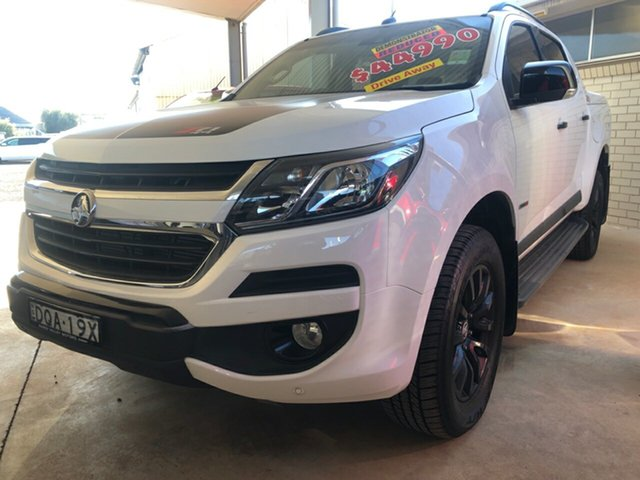 Used Holden Colorado RG MY17 Z71 (4x4), 2017 Holden Colorado RG MY17 Z71 (4x4) Summit White 6 Speed Automatic Crew Cab Pickup